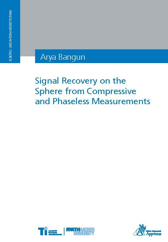 Signal Recovery on the Sphere from Compressive and Phaseless Measurements