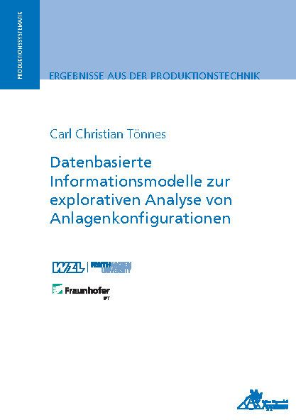 Datenbasierte Informationsmodelle zur explorativen Analyse von Anlagenkonfigurationen (E-Book)