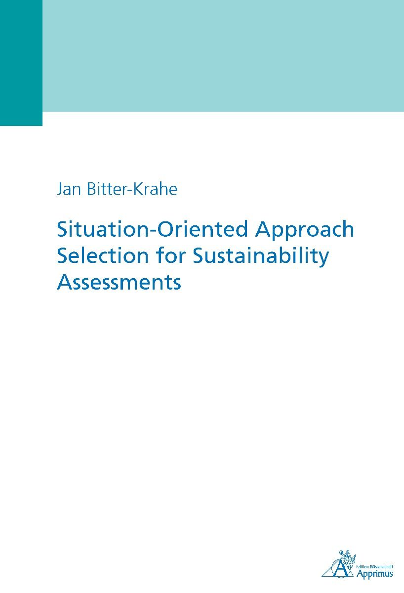 Situation-Oriented Approach Selection for Sustainability Assessments (E-Book)