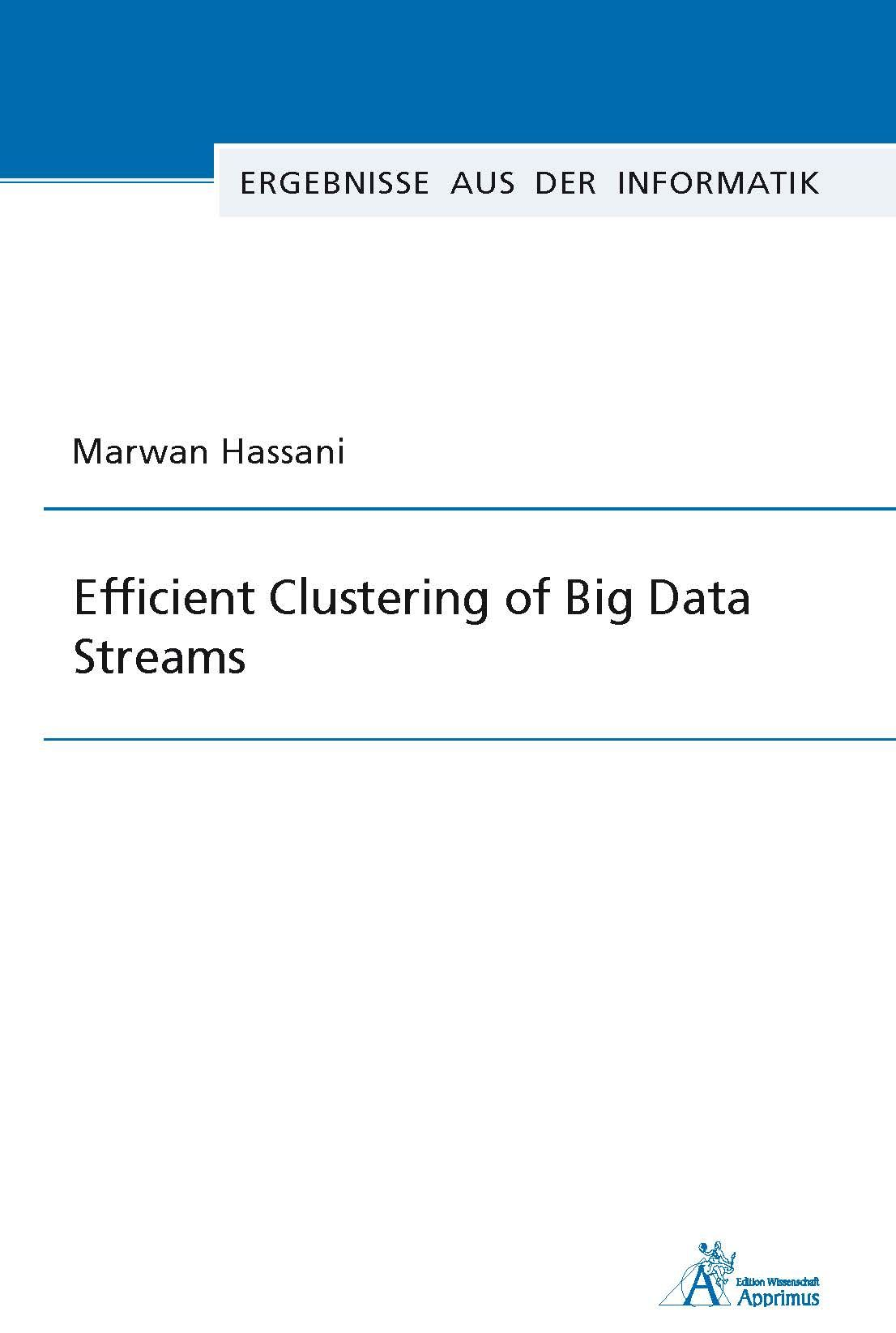 Efficient Clustering of Big Data Streams (E-Book)