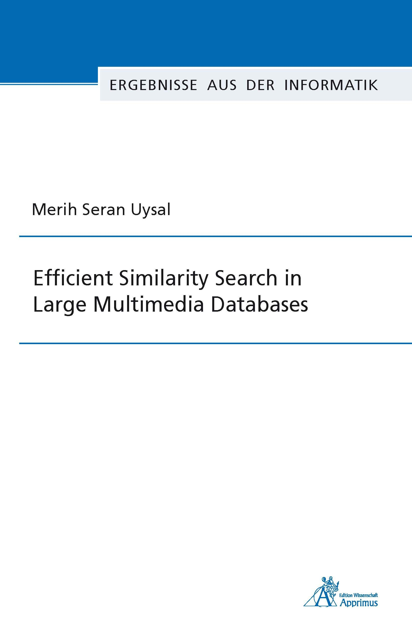 Efficient Similarity Search in Large Multimedia Databases