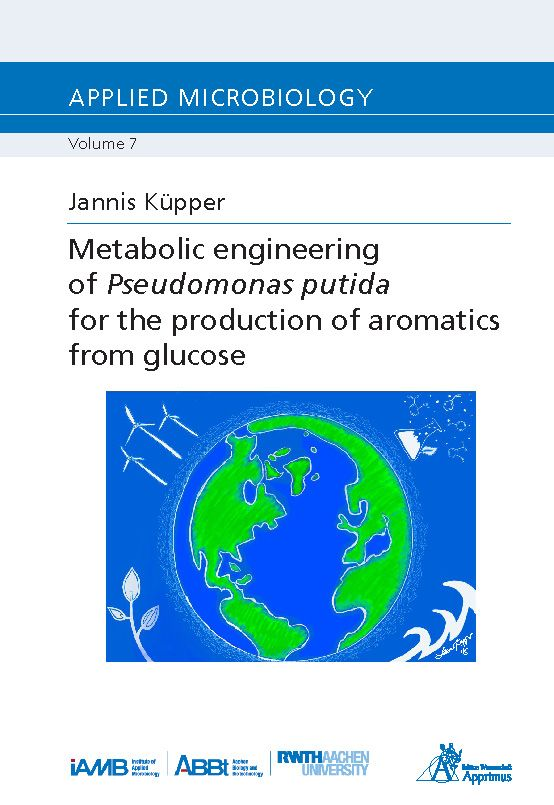 Metabolic engineering of Pseudomonas putida for the production of aromatics from glucose (E-Book)