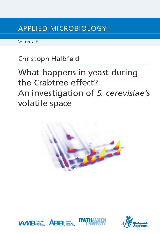 What happens in yeast during the Crabtree effect? An investigation of S. cerevisiae's volatile space