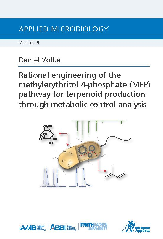 Rational engineering of the methylerythritol 4-phosphate (MEP) pathway for terpenoid production through metabolic control analysis