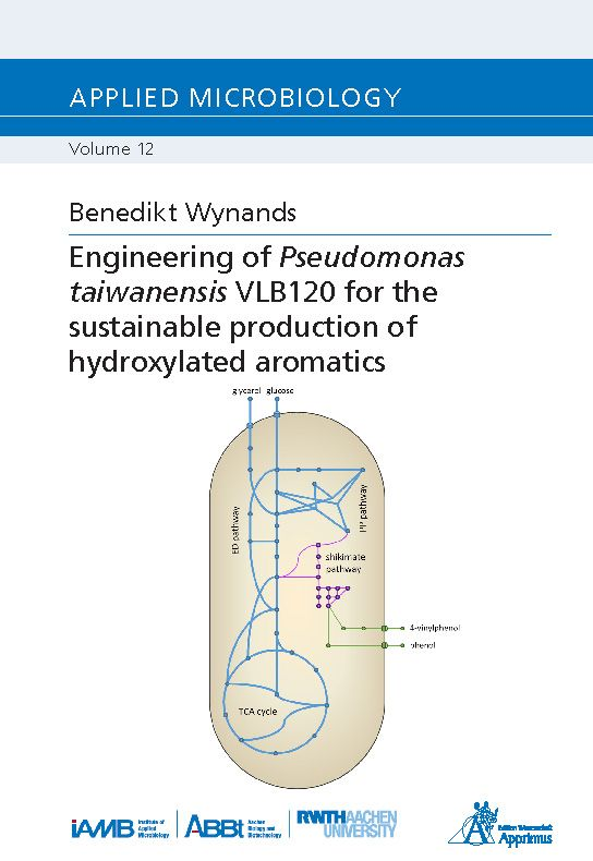 Engineering of Pseudomonas taiwanensis VLB120 for the sustainable production of hydroxylated aromatics