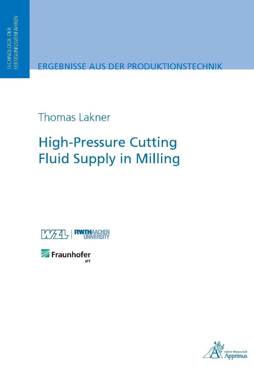 High-Pressure Cutting Fluid Supply in Milling