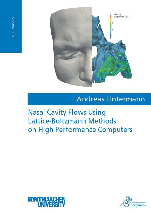 Nasal Cavity Flows Using Lattice-Boltzmann Methods on High Performance Computers